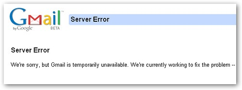 Gmail down?